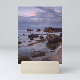 Pans Rocks Beach II Mini Art Print
