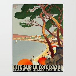 Vintage poster - Cote D'Azur, France Poster