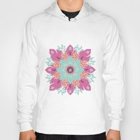 om Hoodies featuring Om by zakumy