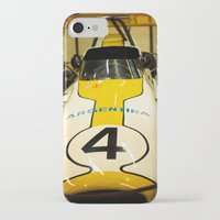 argentina iPhone & iPod Cases featuring Argentina #4 by Sciuridae