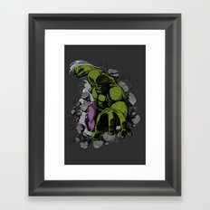 Hero Mode Framed Art Print