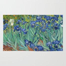 Irises, Vincent Van Gogh Rug