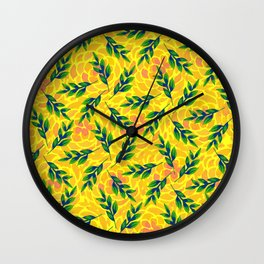 pattern 56 Wall Clock