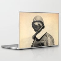 general Laptop & iPad Skins featuring General Sloth by Bakus