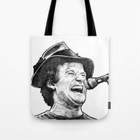 hayley williams Tote Bags featuring williams by BzPortraits
