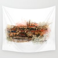 prague Wall Tapestries featuring Hradczany - Prague by jbjart