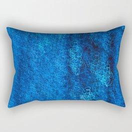 Blue Light III Rectangular Pillow
