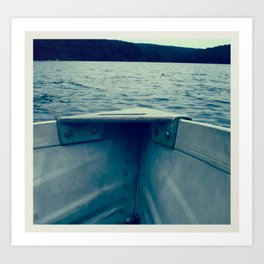 rowboat Art Print
