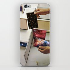 Putting the universe in place iPhone & iPod Skin