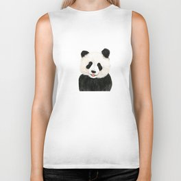 naughty little panda Biker Tank