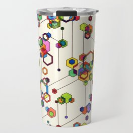 Connected Clusters Travel Mug