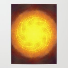 The Almighty sun Poster