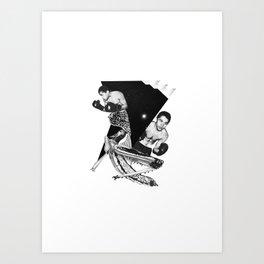 Box-XXX Art Print