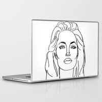 angelina jolie Laptop & iPad Skins featuring Angelina Jolie by weisart