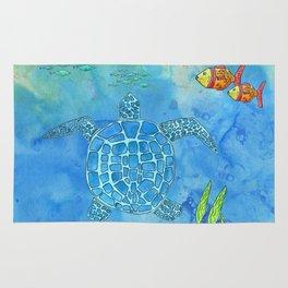 Secret Turtle Rug