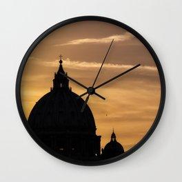 Sky of Rome Wall Clock