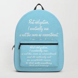 Obligation Backpack