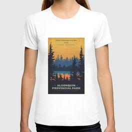 Algonquin Park Poster T-shirt