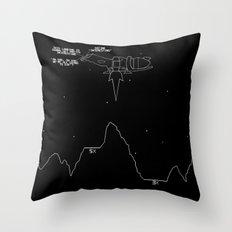 Serenity Lander Throw Pillow