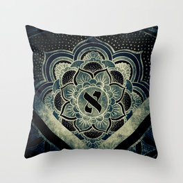 Sacred Geometry for your daily life - ESOTERIC ALEPH KYBALION EYE Throw Pillow