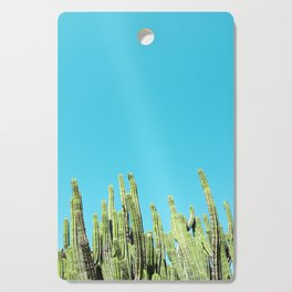 Desert Cactus Reaching for the Blue Sky Cutting Board