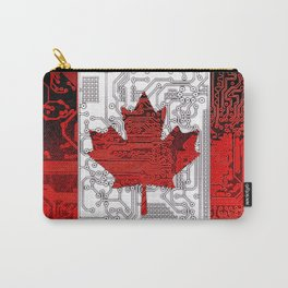 circuit board Canada (Flag) Carry-All Pouch