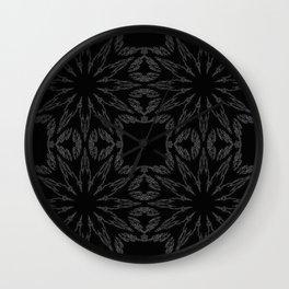 Slate Gray Colorburst Wall Clock