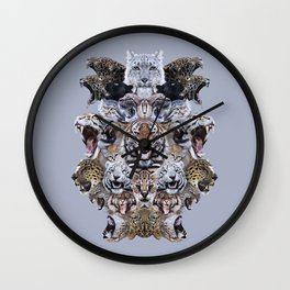 Team Kitty Wall Clock