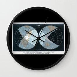 1769 Transit of Venus Wall Clock