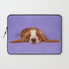 Basset Hound Puppy Laptop Sleeve