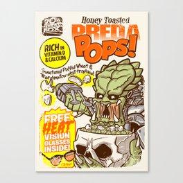PredaPOPS! Canvas Print