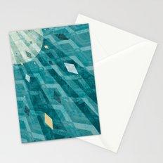 Sunburst Triangle Burst Stationery Cards
