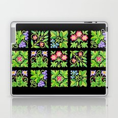 Tudor Flower Parterre Laptop & iPad Skin