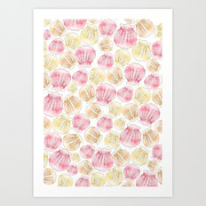 Sea Shells Art Print