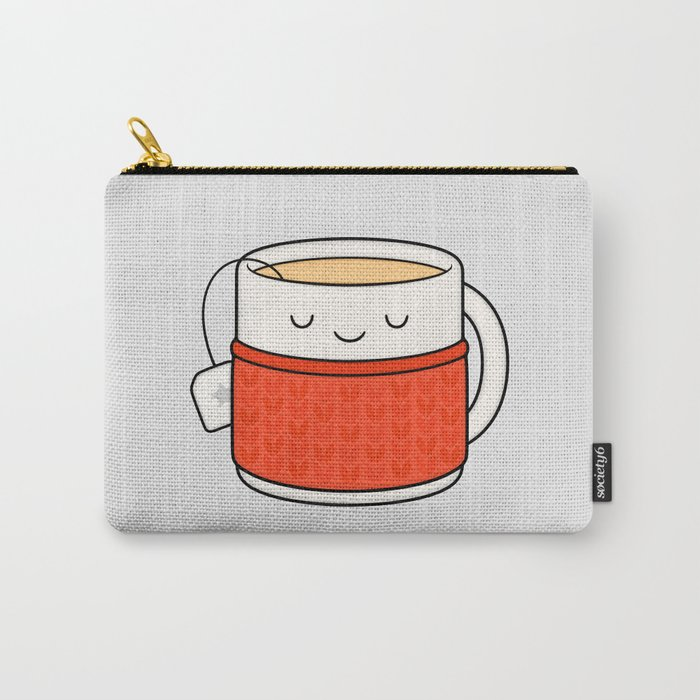 Keep warm, drink tea! Carry-All Pouch