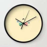 She & He Wall Clock