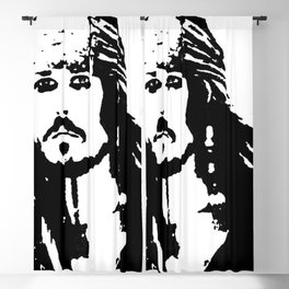 pirates caribbean sea Blackout Curtain