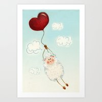 Eid Sheep Art Print