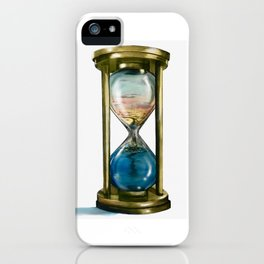 Passing Time iPhone Case