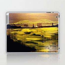 Memphis Skyline at Night Laptop & iPad Skin