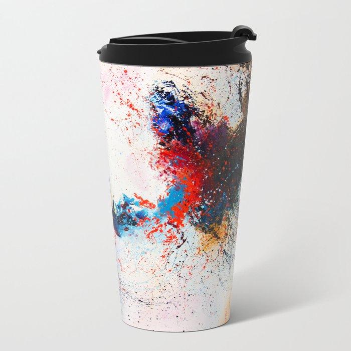 Whirlpool galaxy Metal Travel Mug