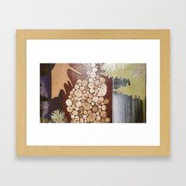 Wood Life Framed Art Print