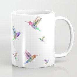 Watercolor Springtime Hummingbird Coffee Mug