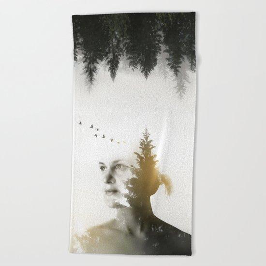Soul of Nature Beach Towel