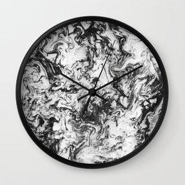 Suminagashi Series (Wei Qi) 卫气 Wall Clock