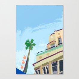 North Beach, Miami Canvas Print