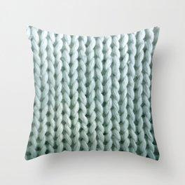 eau de knitwit Throw Pillow