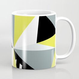Modern Geometric 45 Yellow Coffee Mug
