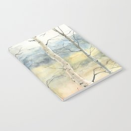 Tender Birch Forest Notebook