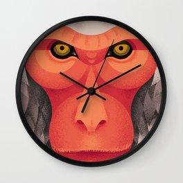 Japanese Monkey Wall Clock